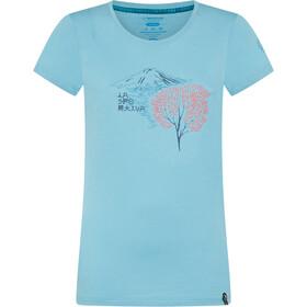 La Sportiva Bloom T-Shirt Dames, pacific blue